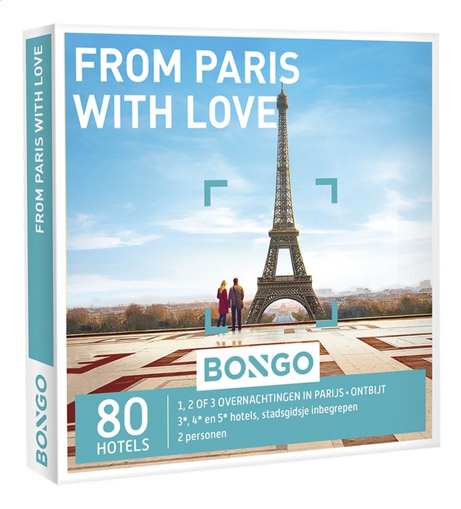 Afbeelding van Bongo From Paris with Love from DreamLand