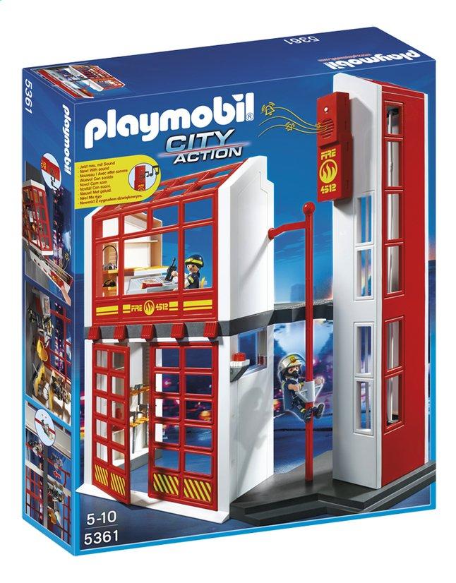 Image pour Playmobil City Action 5361 Caserne des pompiers avec alarme à partir de DreamLand