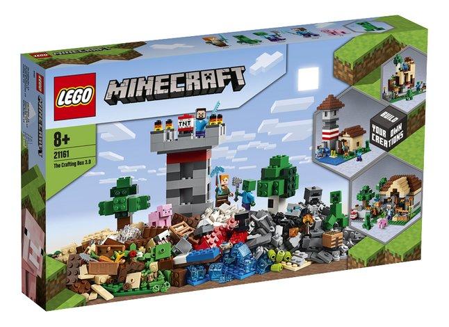 LEGO Minecraft 21161 De Crafting Box 3.0