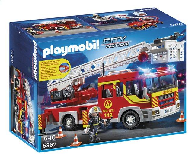 Image pour Playmobil City Action 5362 Camion de pompier avec échelle pivotante et sirène à partir de DreamLand