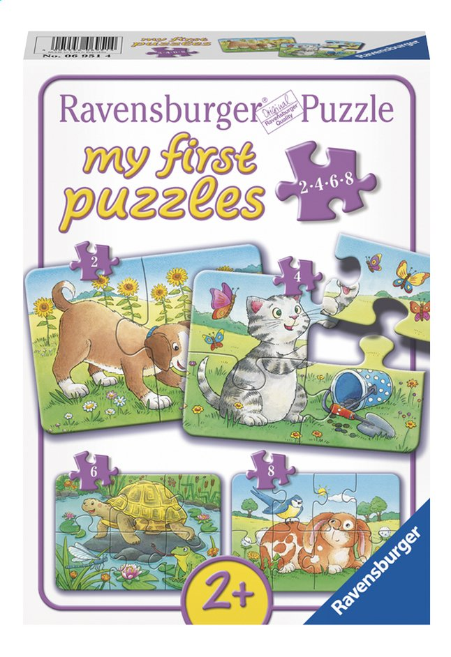 Afbeelding van Ravensburger puzzel 4-in-1 My First Puzzles Schattige Huisdieren from DreamLand