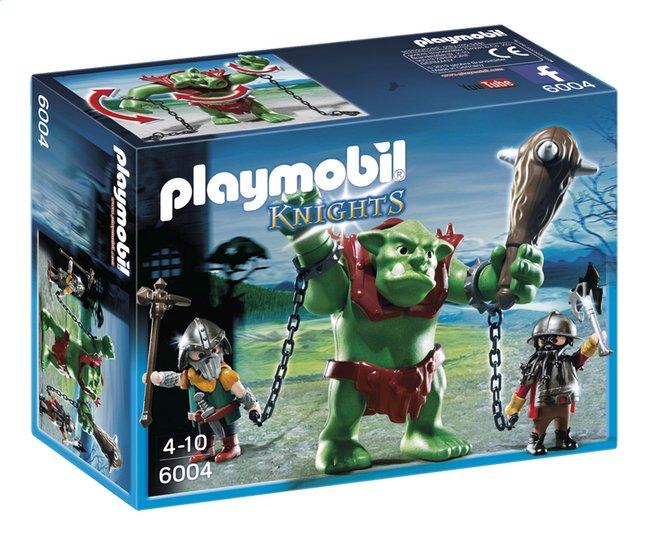 Afbeelding van Playmobil Knights 6004 Reuzentrol met dwergsoldaten from DreamLand