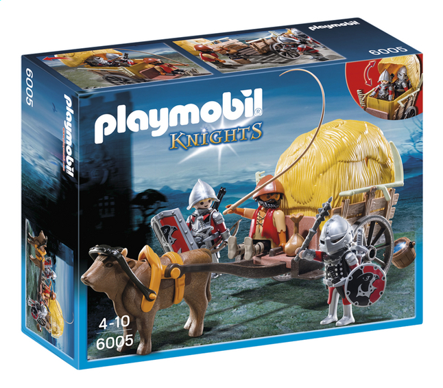 Afbeelding van Playmobil Knights 6005 Camouflage hooiwagen van de Valkenridders from DreamLand