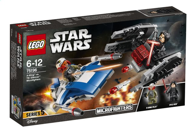 Afbeelding van LEGO Star Wars 75196 A-Wing vs TIE Silencer microfighters from DreamLand