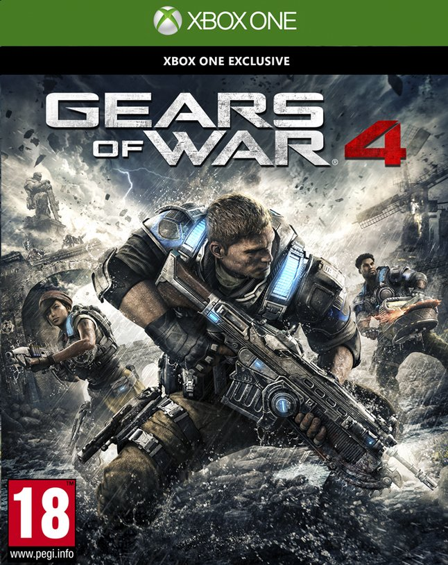 Afbeelding van XBOX One Gears of War 4 ENG/FR from DreamLand
