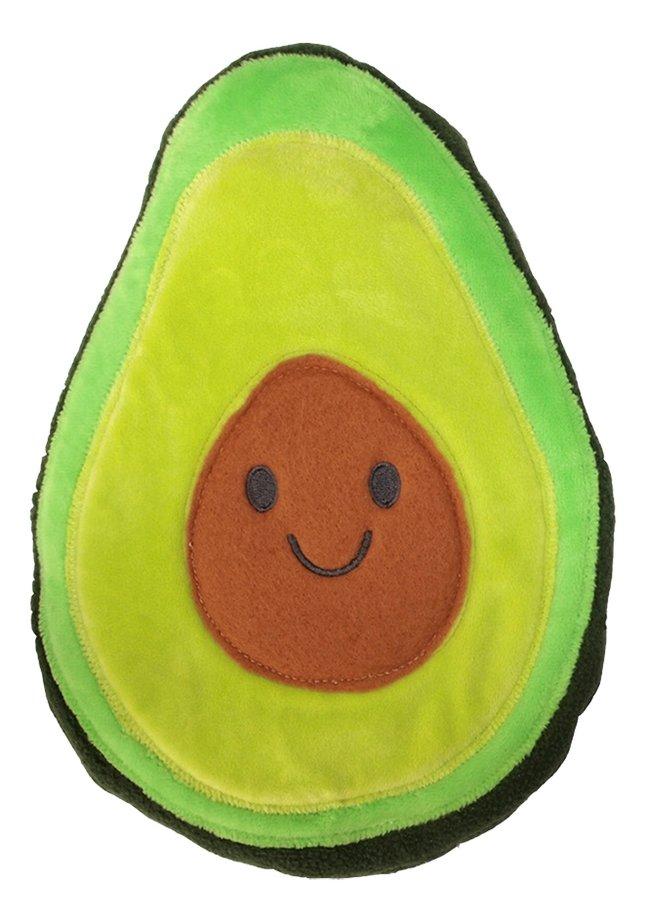 Opwarmbare knuffel avocado