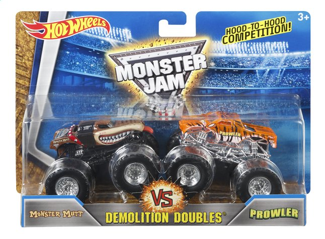 Image pour Hot Wheels Monster Truck Demolition Doubles Monster Mutt VS Prowler à partir de DreamLand