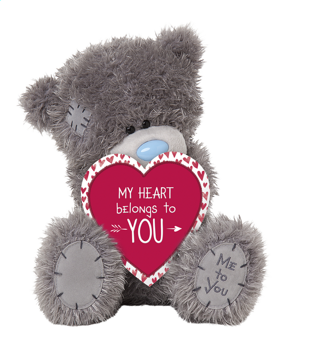 image pour me to you peluche my heart belongs to you 25 cm partir de