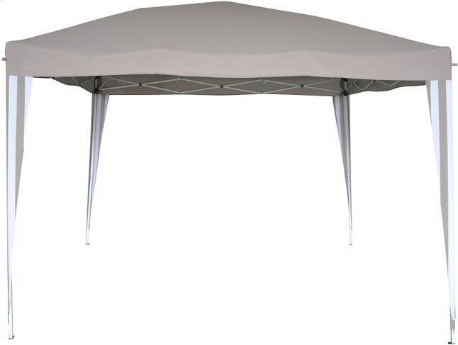 Afbeelding van Plooibare partytent Easy Up 3 x 3 m taupe from DreamLand