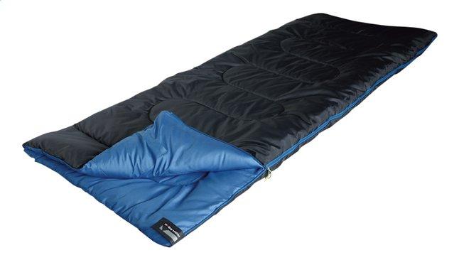 High Peak Sac de couchage Ceduna noir/bleu 200 x 80 cm