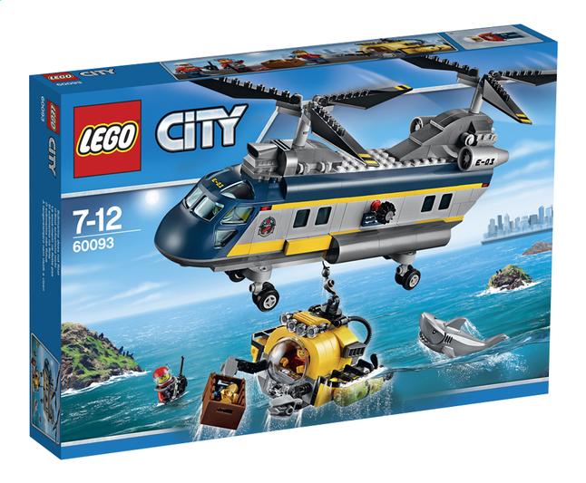 Afbeelding van LEGO City 60093 Deep Sea Helicopter from DreamLand