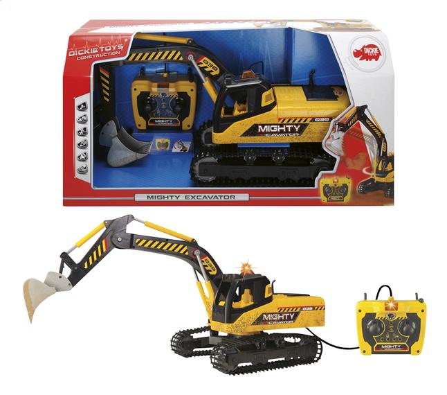 Afbeelding van Dickie Toys constructievoertuig Mighty Excavator from DreamLand