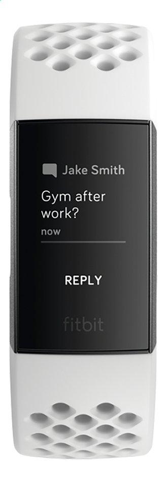 Afbeelding van Fitbit activiteitsmeter Charge 3 HR aluminium/wit from DreamLand