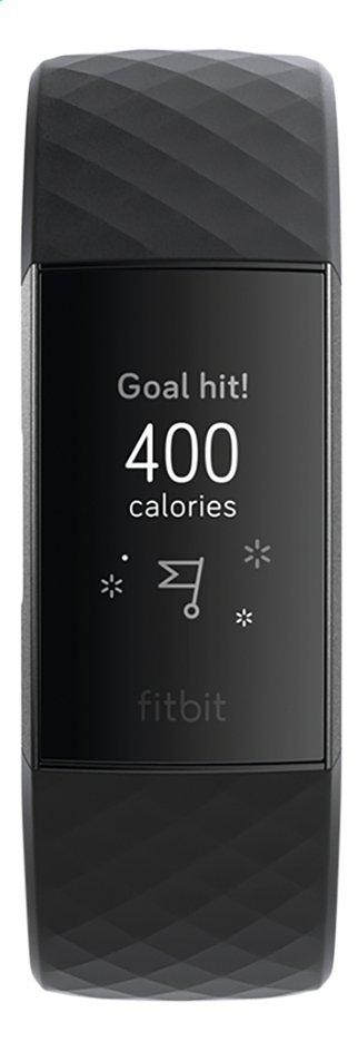 Fitbit activiteitsmeter Charge 3 HR aluminium/zwart