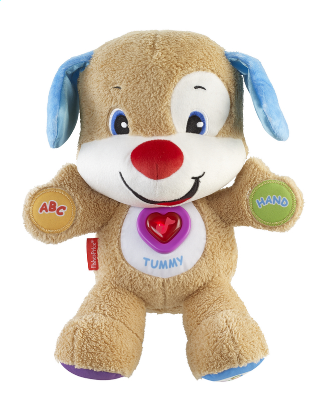 Afbeelding van Fisher-Price interactieve knuffel Laugh and Learn Smart Stages Puppy from DreamLand