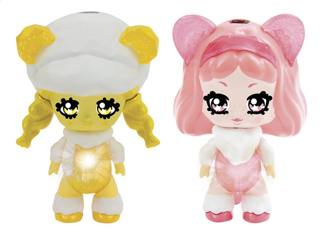 Afbeelding van Figuur Glimmies Polaris Honeymia & Lia from DreamLand