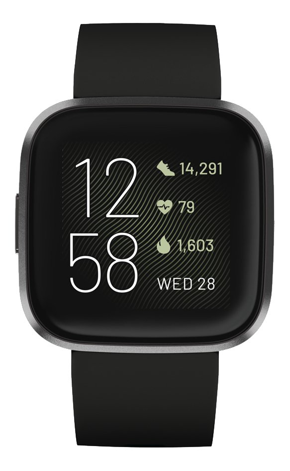 Afbeelding van Fitbit Smartwatch Versa 2 carbon black from DreamLand