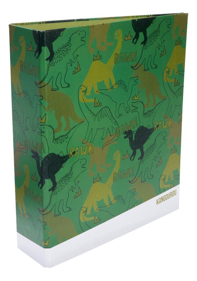 Kangourou classeur  A4 Dino 8 cm