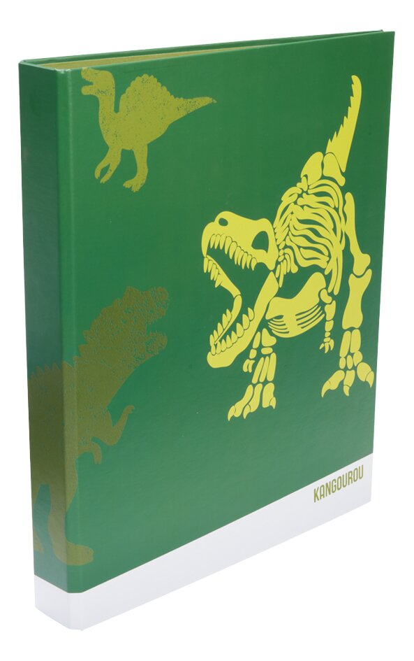 Kangourou ringmap A4 Dino 4 cm