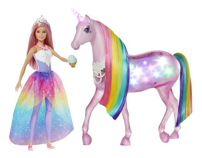 Barbie Dreamtopia Princesse avec licorne magique