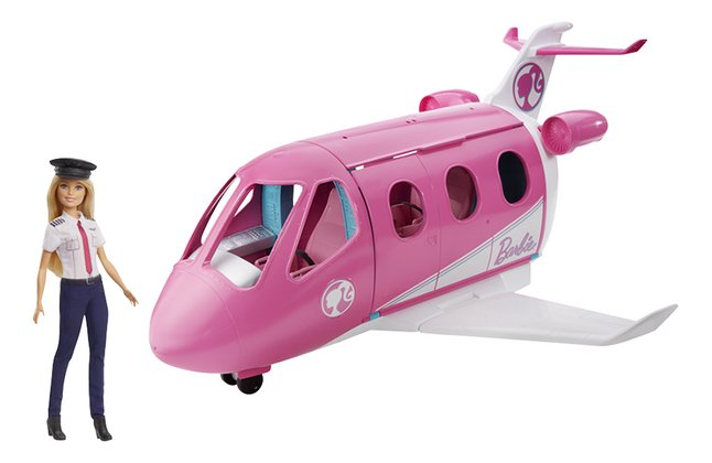 Afbeelding van Barbie speelset Droomvliegtuig met piloot from DreamLand