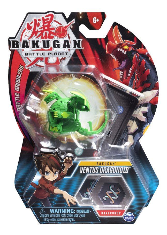 Afbeelding van Bakugan Core Ball Pack - Ventus Dragonoid from DreamLand