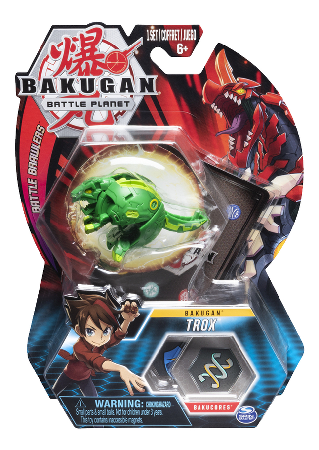 Afbeelding van Bakugan Core Ball Pack - Trox from DreamLand