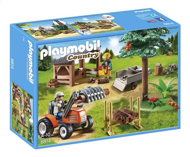 Afbeelding van Playmobil Country 6814 Houthakker met tractor from DreamLand