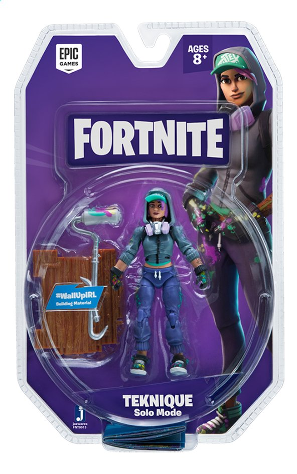 Afbeelding van Fortnite actiefiguur Teknique Solo Mode from DreamLand