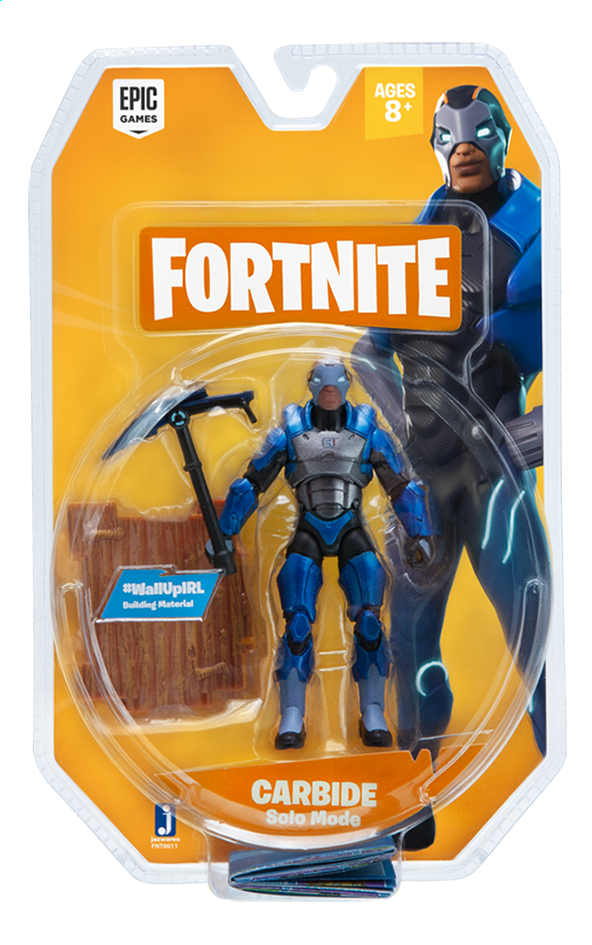 Afbeelding van Fortnite actiefiguur Carbide Solo Mode from DreamLand