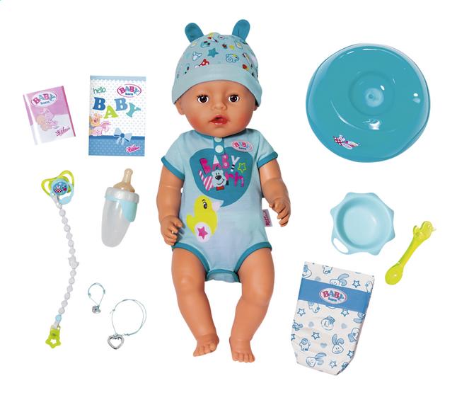 BABY born Interactieve pop Soft touch Jongen