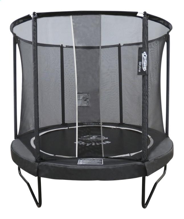 Optimum Skyline Premium ensemble trampoline Ø 2,44 m noir