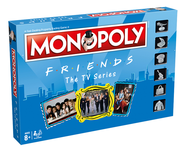Afbeelding van Monopoly Friends The TV Series ENG from DreamLand
