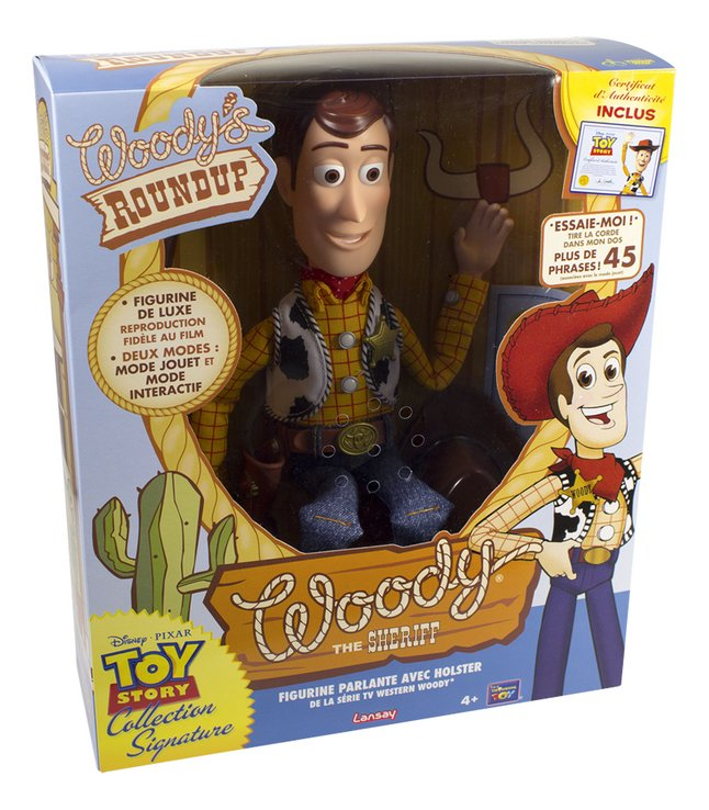Figurine interactive Toy Story 4 Woody The Sheriff Parlant