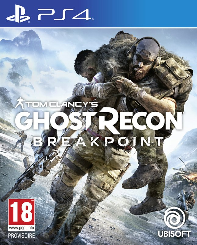 PS4 Tom Clancy's Ghost Recon Breakpoint FR/ANG