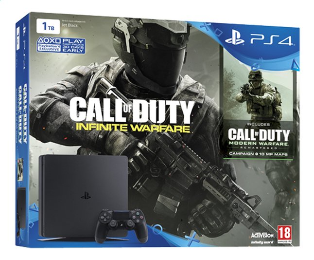 Afbeelding van PS4 console New + Call of Duty Infinite Warfare + Modern Warfare + Early acces code from DreamLand