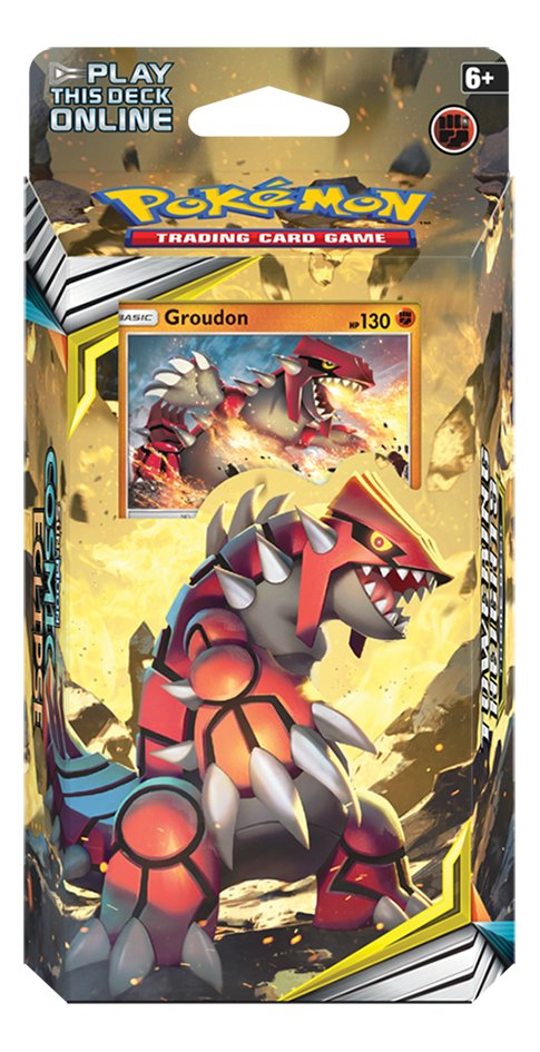 Afbeelding van Pokémon Trading Cards Sun & Moon 12 Cosmic Ecllipse Starter Groudon from DreamLand