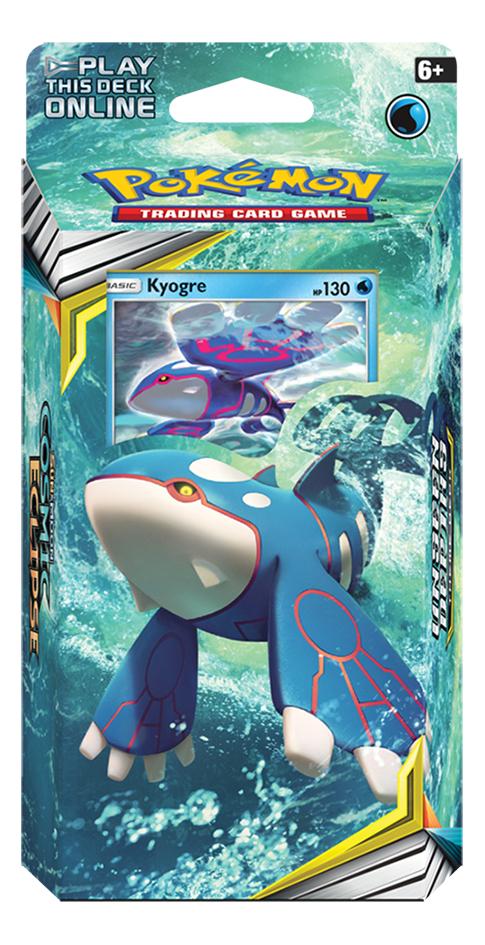 Image pour Pokémon Trading Cards Sun & Moon 12 Cosmic Eclipse Starter Kyogre ANG à partir de DreamLand