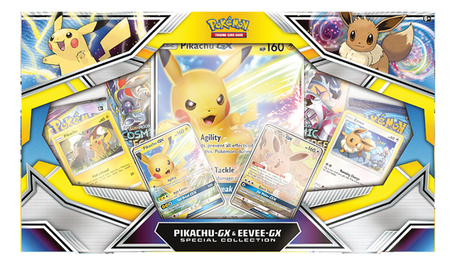 Afbeelding van Pokémon Trading Cards Pikachu-GX & Eevee-GX Special Collection from DreamLand