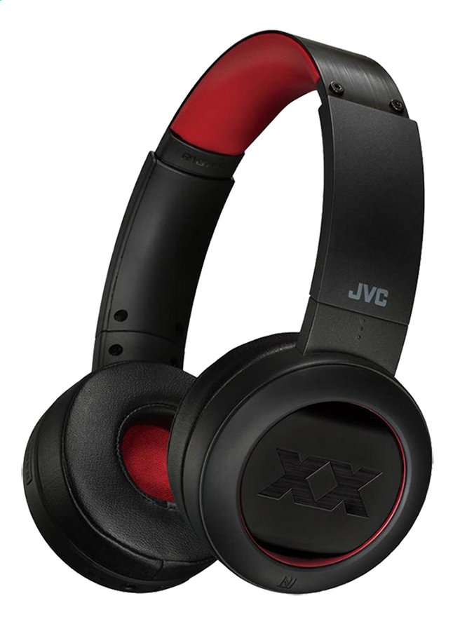 JVC Bluetooth hoofdtelefoon HA-XP50BT-R