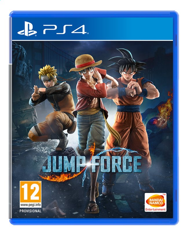 Afbeelding van PS4 Jump Force NL from DreamLand
