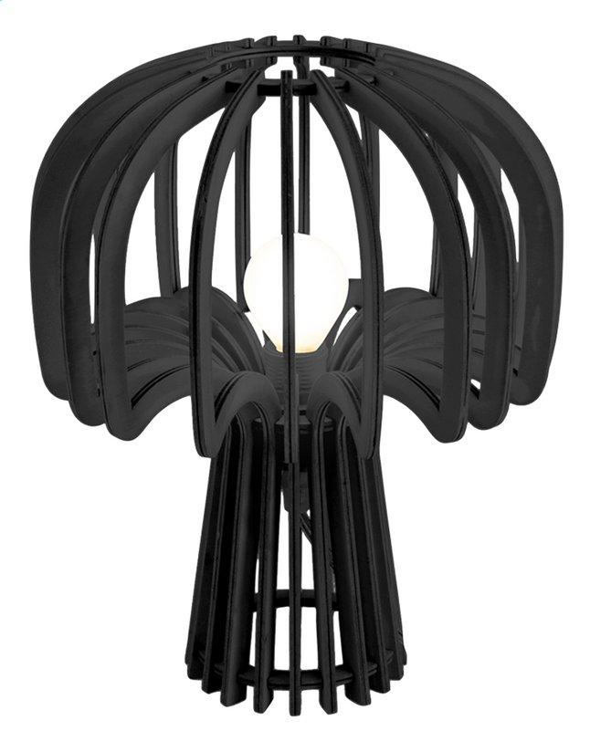 Lampe de bureau Leitmotiv Globular Mushroom wood black