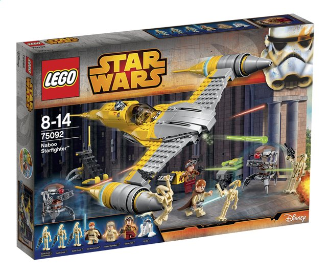 Afbeelding van LEGO Star Wars 75092 Naboo Starfighter from DreamLand