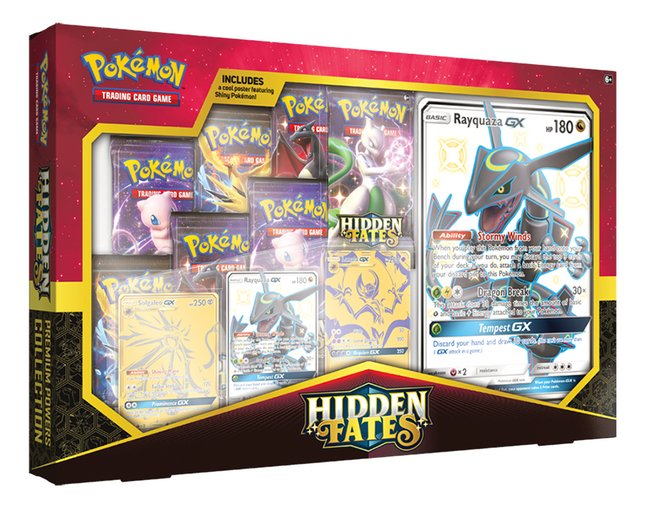Pokémon Trading Cards Hidden Fates Premium Powers Collection ANG