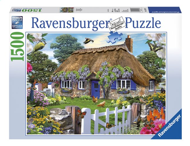 Afbeelding van Ravensburger puzzel Cottage in England from DreamLand
