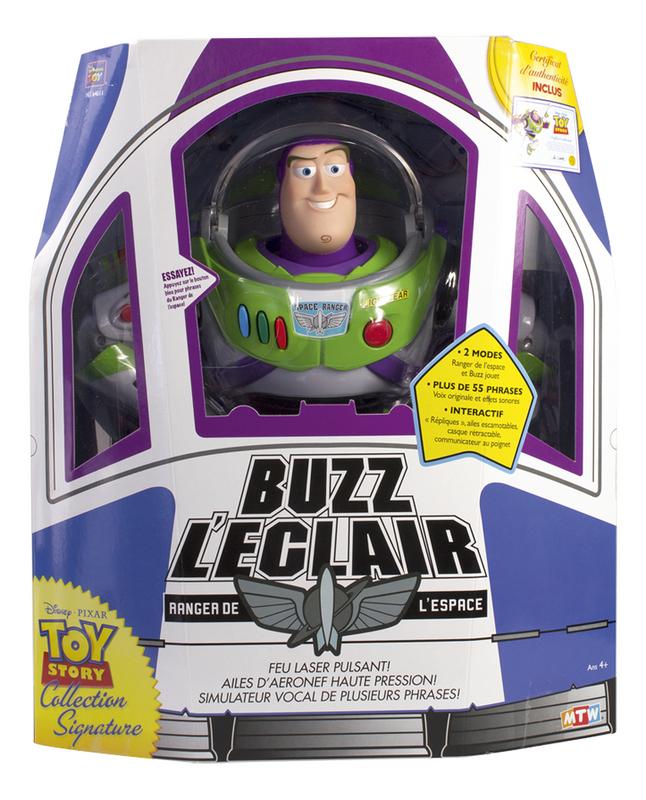 Figurine Interactive Toy Story 4 Buzz Leclair Ranger De Lespace