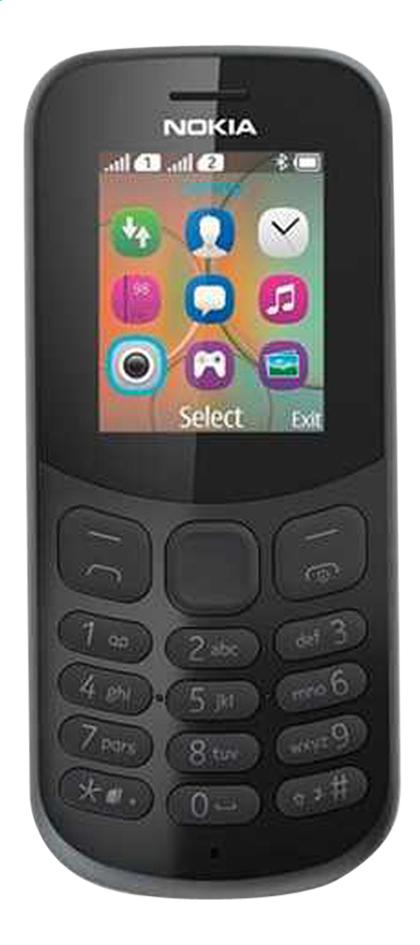 Nokia GSM 130 Kesa zwart | Dre...