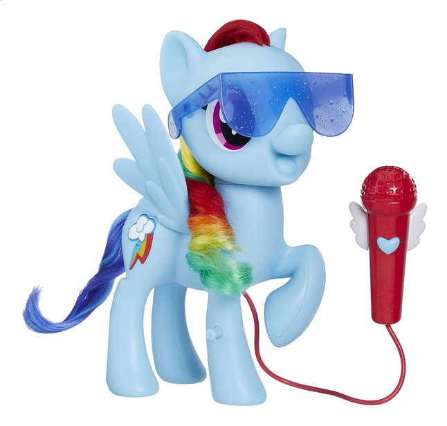 Afbeelding van My Little Poney Singing Rainbow Dash from DreamLand