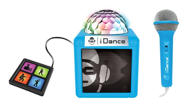 iDance bluetooth luidspreker Cube Sing 200 cyaan