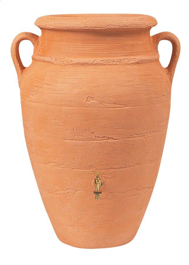 Afbeelding van Garantia Regenton Amfoor antiek terracotta 250 l from DreamLand